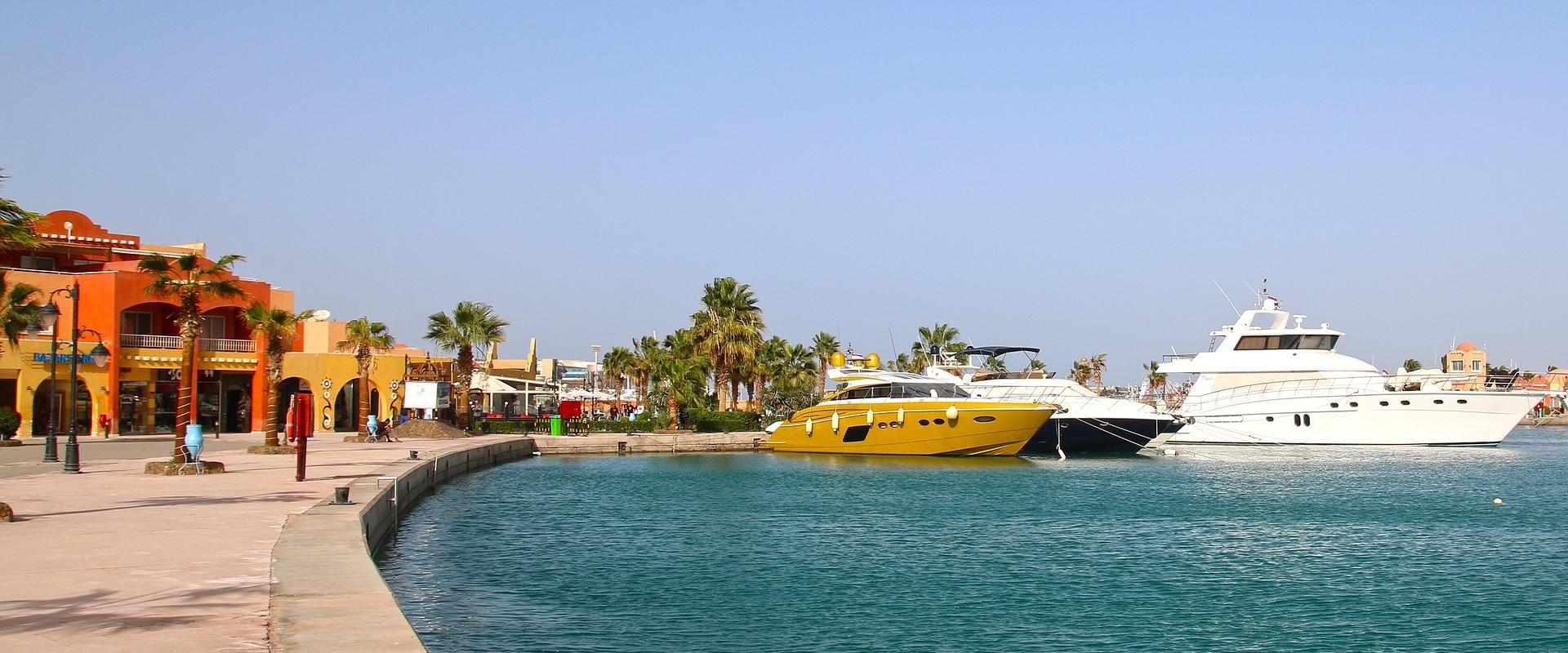 Hurghada - kurort w Egipcie
